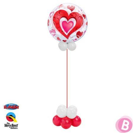 Bubble Red Heart et Filigree