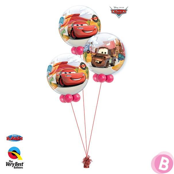Bouquet Trio Bubble Cars