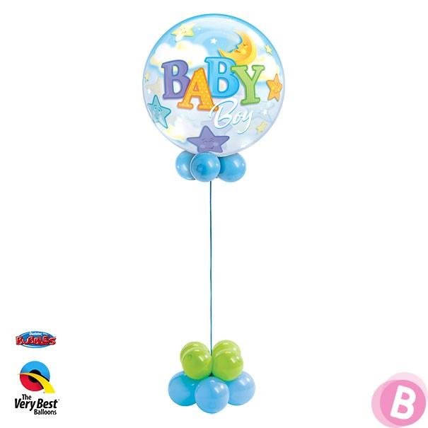 Ballon hélium naissance Baby Boy