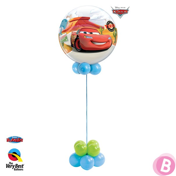 Bubble Lightning McQueen Cars Mater