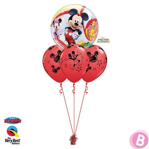 Layer Bubble Mickey