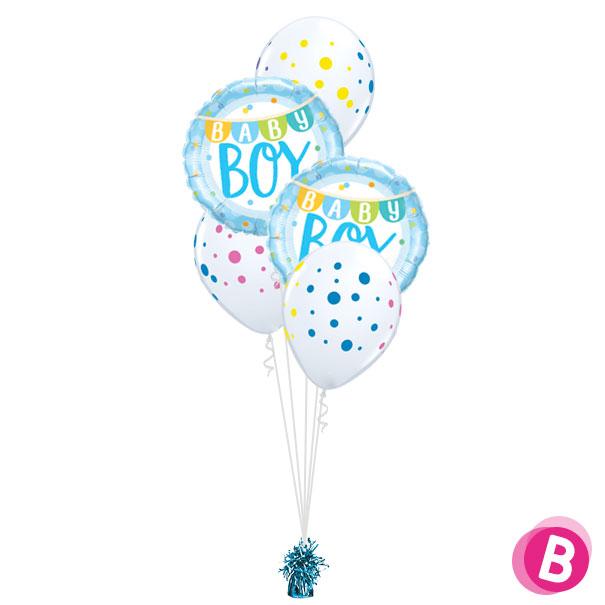 Bouquet déco Baby Boy