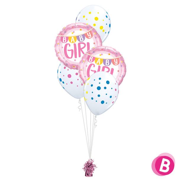 Bouquet déco Baby Girl