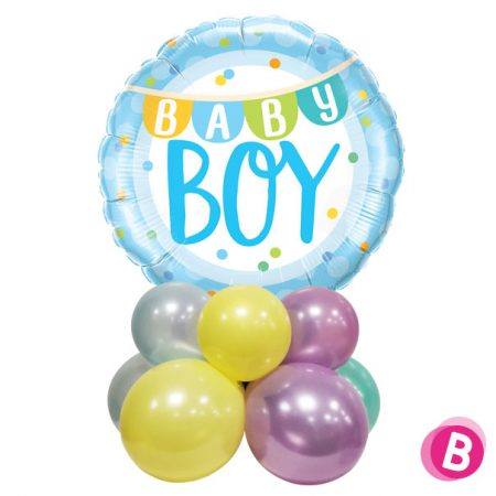 Décor de table Baby Boy banner