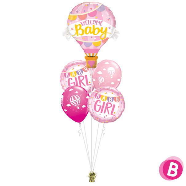 Bouquet Magique Welcome Baby Pink