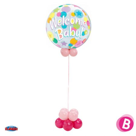 Colonne Bubble Welcome Baby Pink
