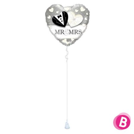 Ballon Mariage Mr & Mrs