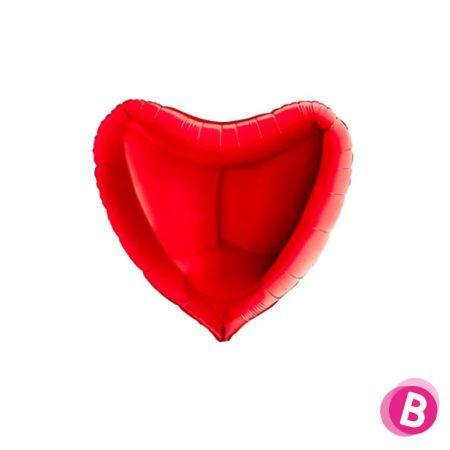 Ballon Cœur Rouge Géant