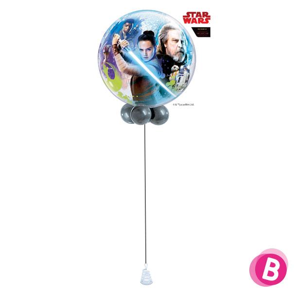 Ballon Bubble Star Wars