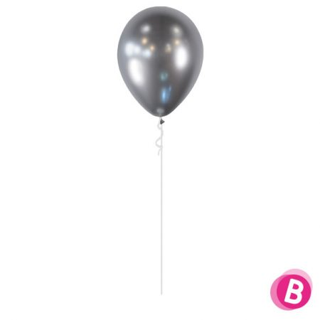 Ballon chrome argent