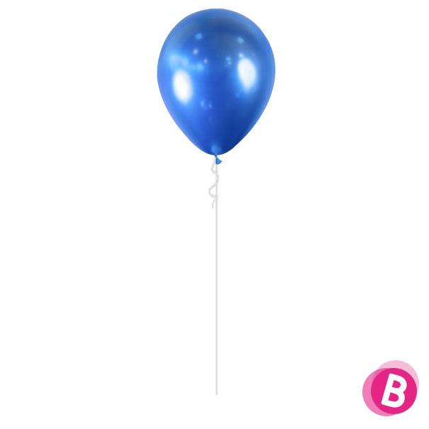 Ballon Chrome Bleu