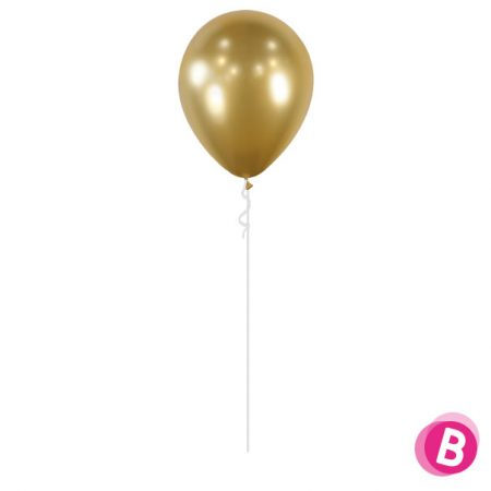 Ballon Chrome Or