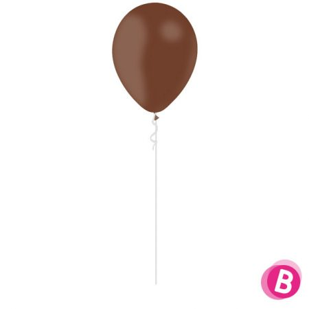 Ballon Latex Chocolat