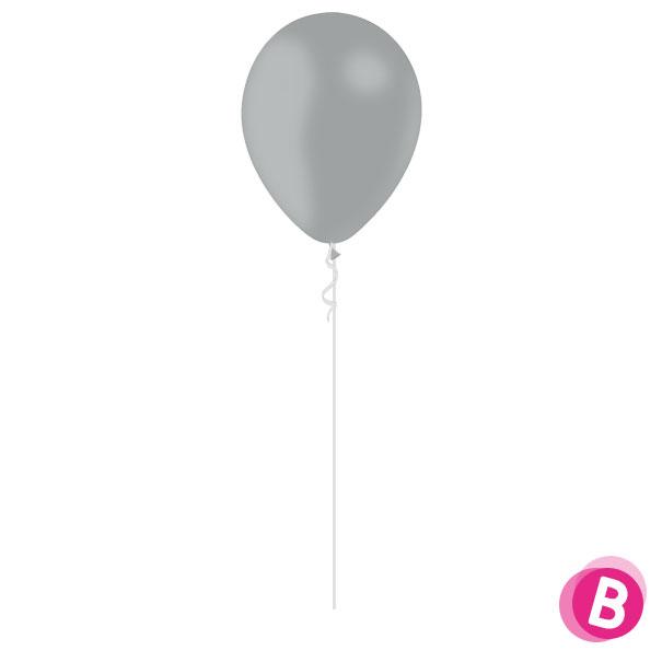 Ballon Latex Gris