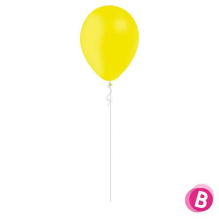 Ballon Latex Jaune