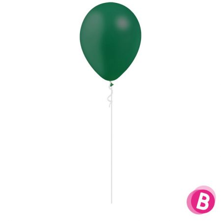 Ballon Latex Vert Forêt