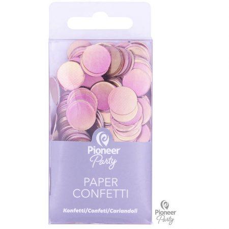 Confettis papier Rose Gold
