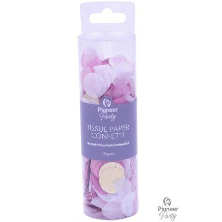 Confettis papier Roses et or