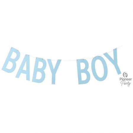 Guirlande Baby Boy Bleue 2m