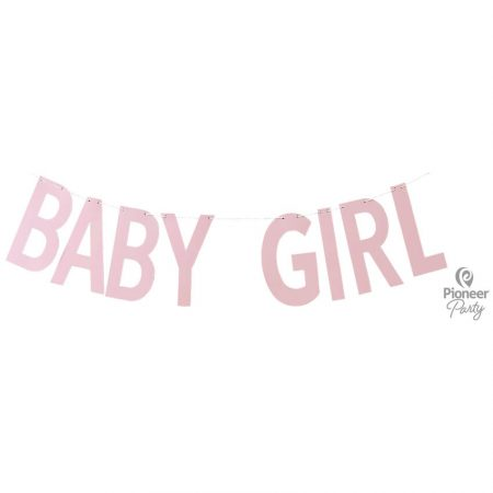 Guirlande Baby Girl Rose 2m