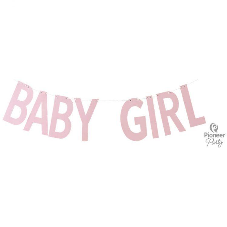 Guirlande Baby Girl Rose 2m