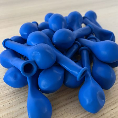 Pochette de 25 petits ballons bleu roi