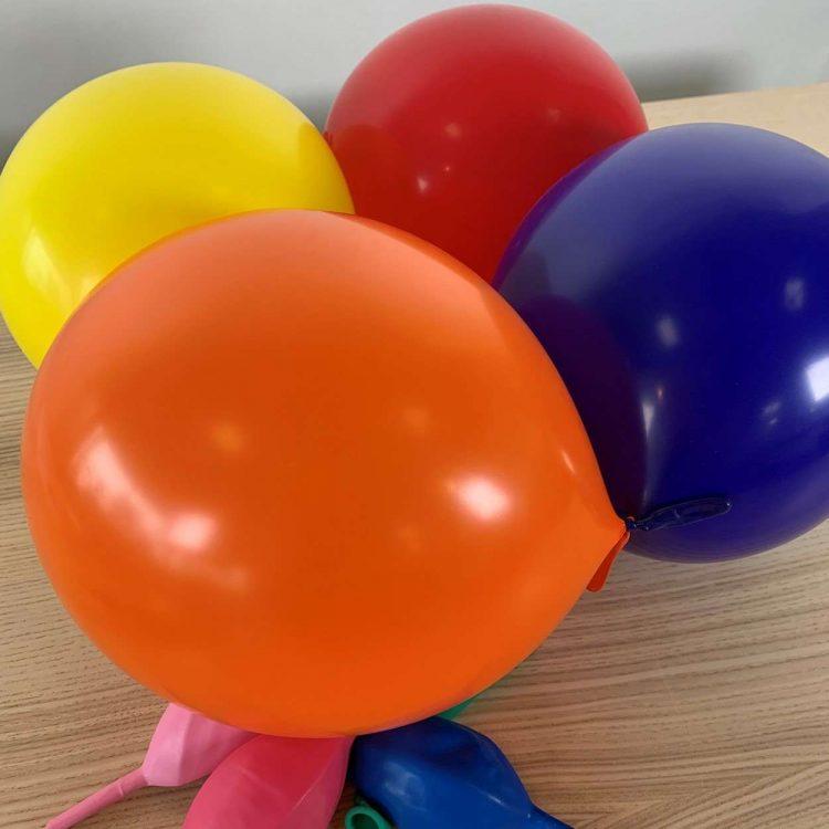 Ballons de construction Multicolore