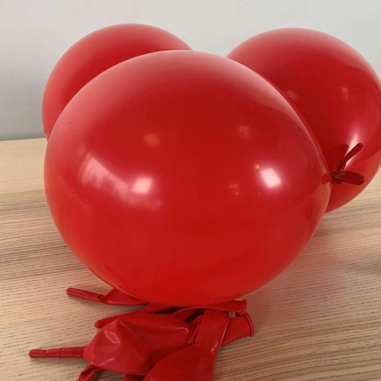 Ballons de construction Rouge