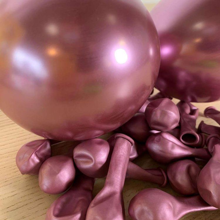 Ballons Mauve brillant 13cm
