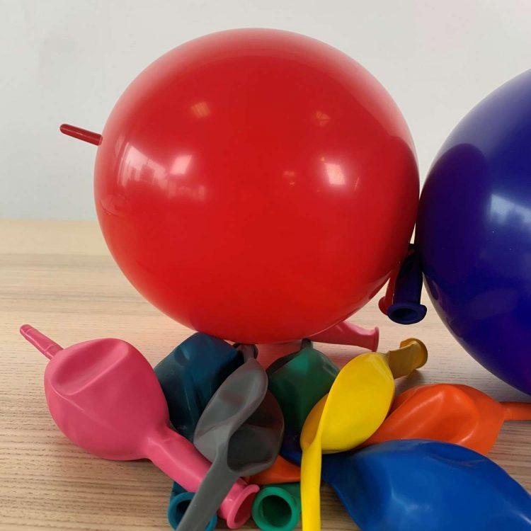 Ballons de construction Multicolore 30cm