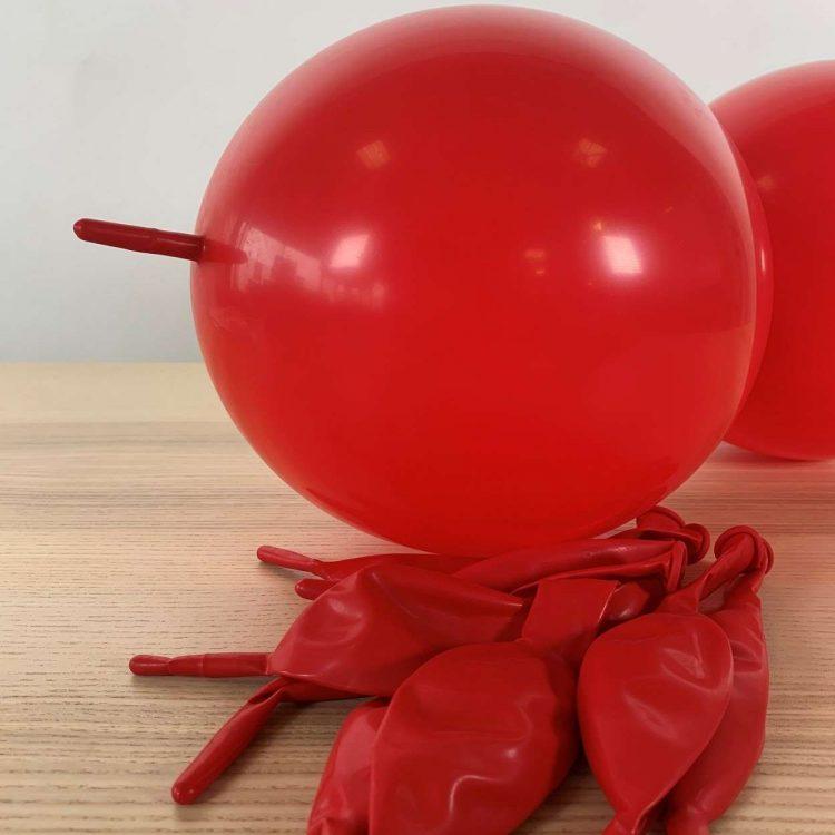 Ballons de construction Rouge 30cm