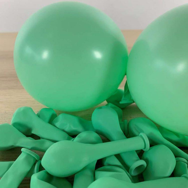 Ballons Pastel Menthe 13cm
