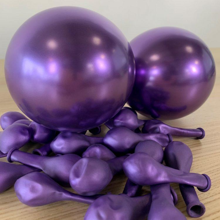 Ballons Violet Brillant 13cm