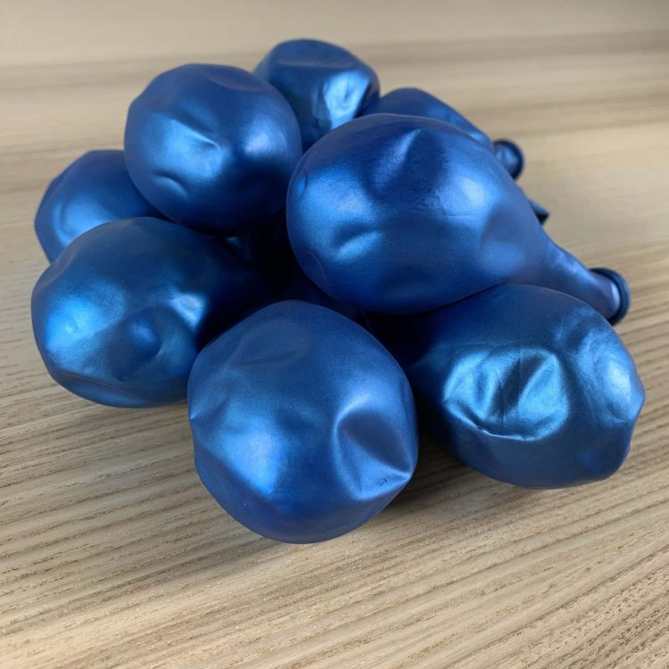 ballons 30cm Bleu Brillant