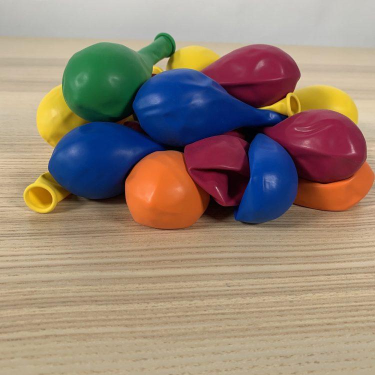 pochette 20 ballons 30cm multicolore