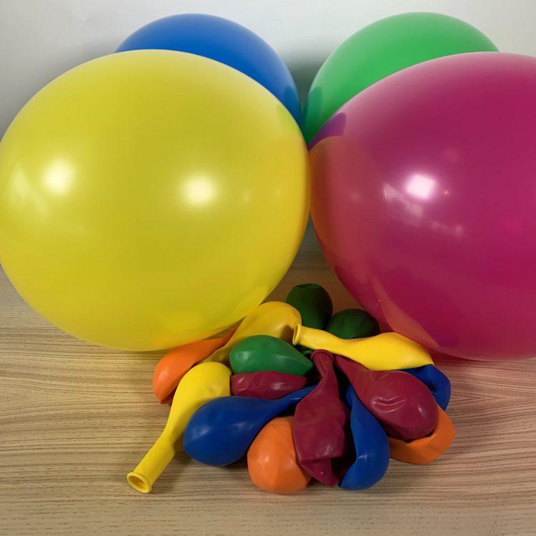 20 ballons 30cm assorti festif multicolores
