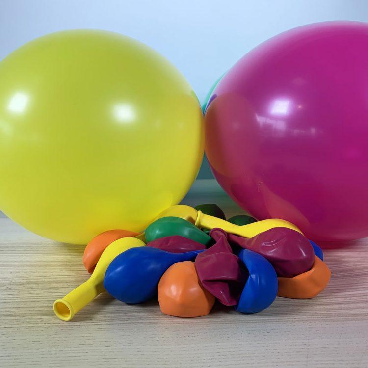 20 ballons 30cm festif multicolores
