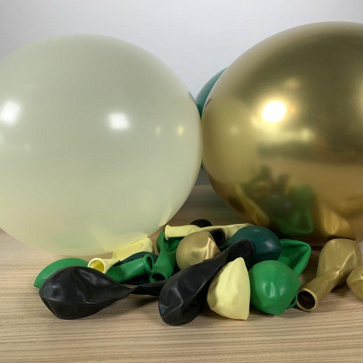20 ballons gonflés nature gonflés