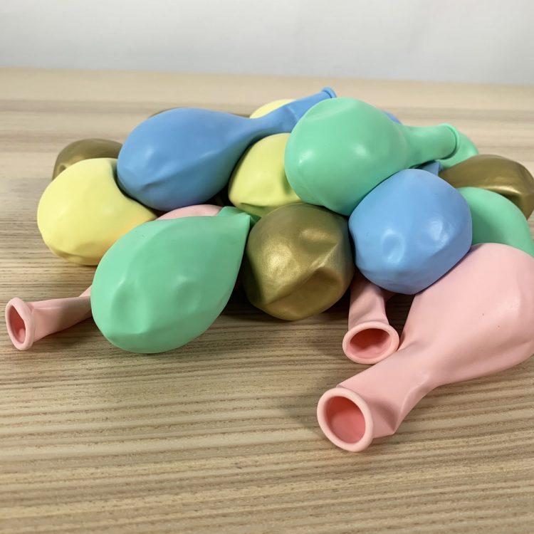 20 ballons eclat pastel