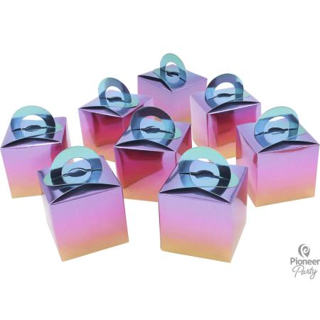 8 Boites Cadeaux Arc-en-ciel