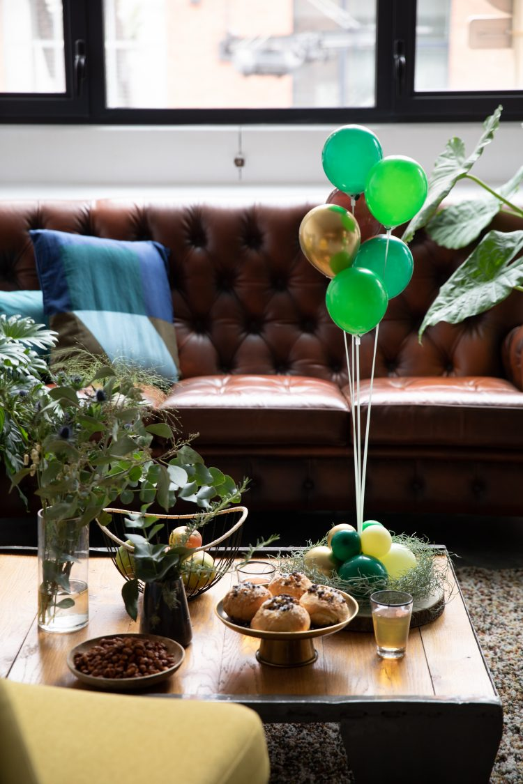 Déco Bouquet de Ballons 6 Tiges
