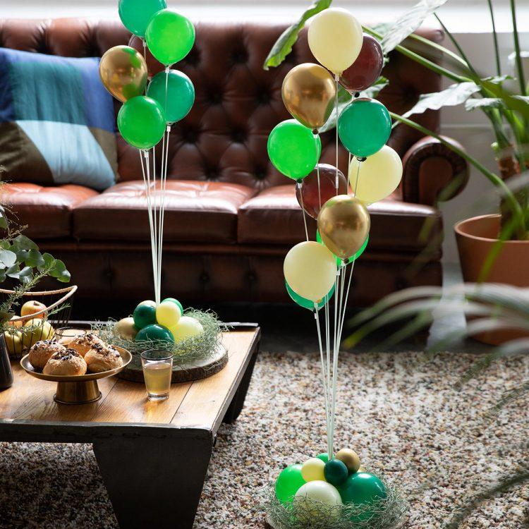 Kit Bouquet 11 Tiges à Faire Soi-Même gold nature
