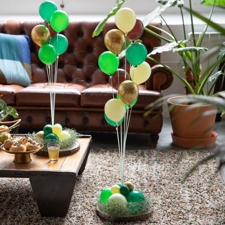 Kit Bouquet 11 Tiges à Faire Soi-Même nature gold