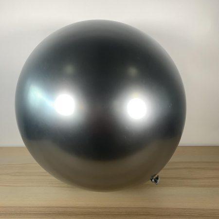 Ballon 60cm Argent Brillant Gonflé