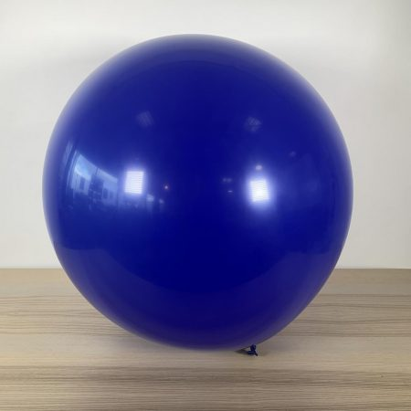 Ballon 60cm Bleu Marine Gonflé