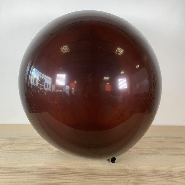 Ballon 60cm Chocolat gonflé