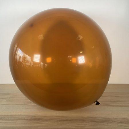 Ballon 60cm Marron Gonflé