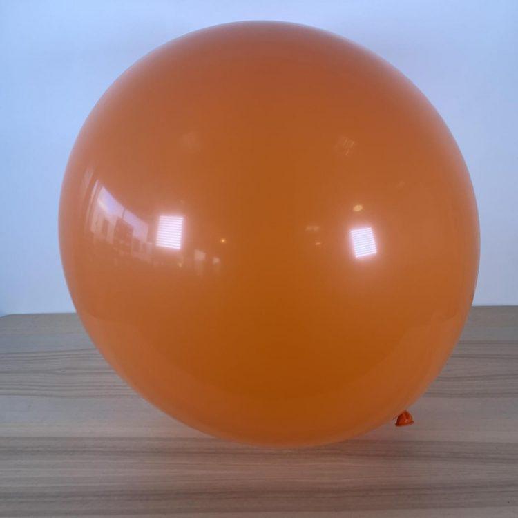 Ballon 60cm Orange Gonflé