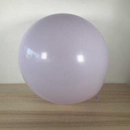 Ballon 60cm Pastel Lavande Gonflé