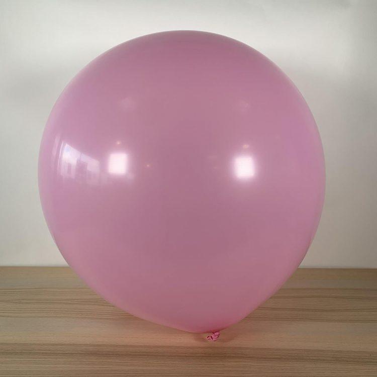 Ballon 60cm Rose Bonbon Gonflé